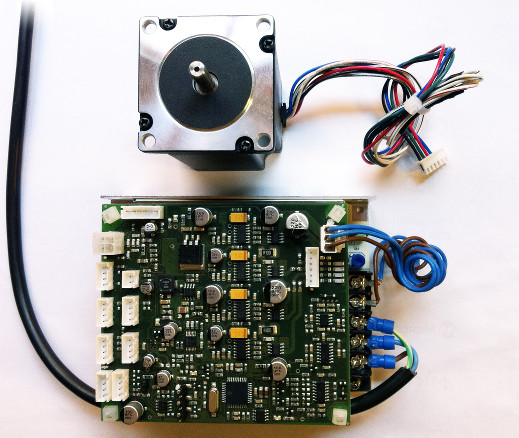 stepper motor control board- fact sheet - brd rev.01 - doc rev.01w